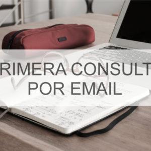 PRIMERA CONSULTA POR EMAIL